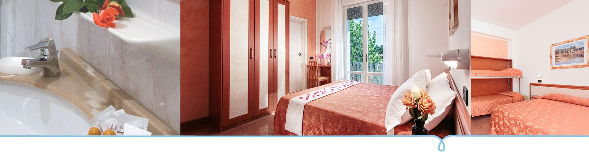 Zimmer mit Klimaanlage und Komfort | Hotel Garden Igea Marina